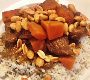 curry met rundvlees
